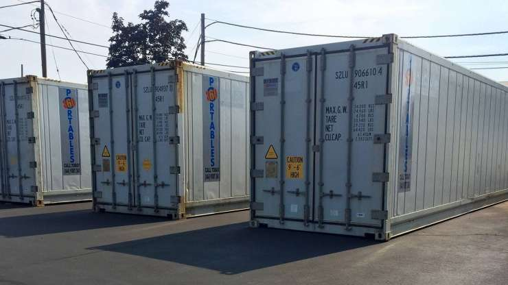 What is a refrigerated storage container?