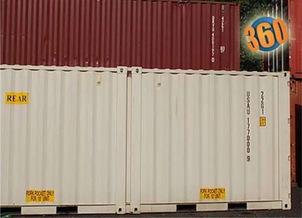 10′ container is perfect for light jobs, small equipment, easy backyard shed, or small renovations