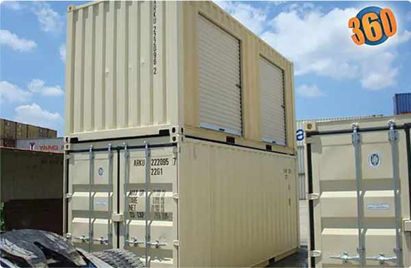 shipping container add-on options