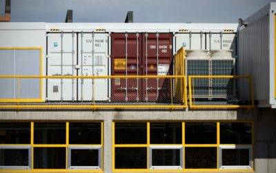 Shipping Container Storage Locker Boost Morale in Remote Areas